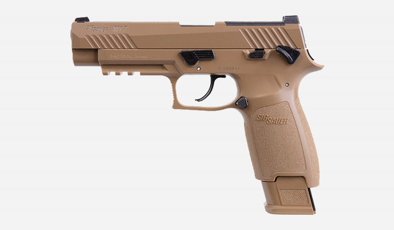 SIG AIR adds to its ASP line of airguns with the introduction of the new M17 CO2-powered air pistol.
