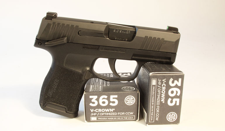 SIG Sauer P365 MS Review