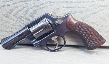 <p>The Smith & Wesson Model 13 revolver was a combat classic back in the day.</p>