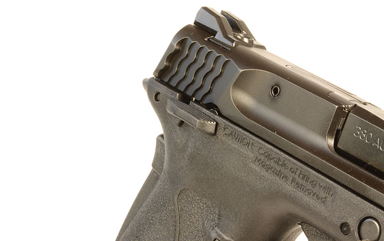 Smith & Wesson M&P 380 Shield EZ with Laser