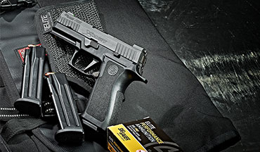 The SIG P320 X-Carry is a refined carry version of the gun that won the army pistol contract.