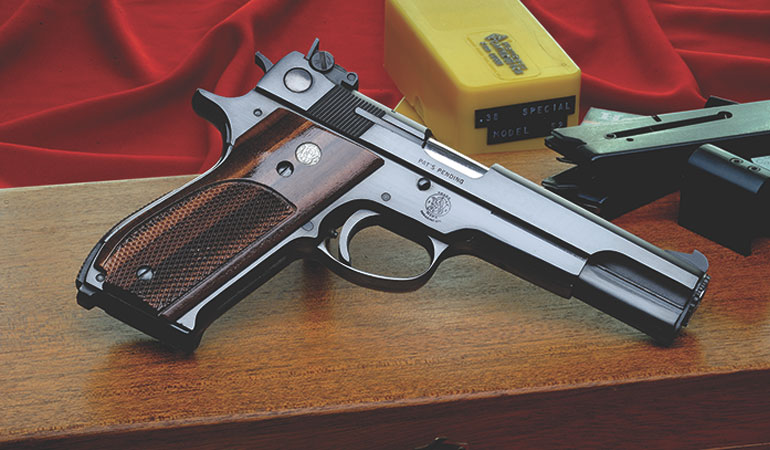 A Handgun Beauty: Smith & Wesson Model 52