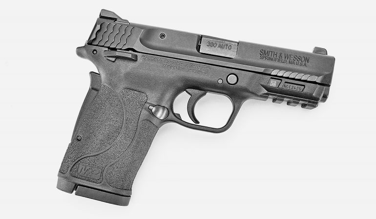 As you will learn in this detailed review, the Smith & Wesson M&P Shield EZ 380 (manufacturer SKU # 180023) is an easy-racking, soft-shooting pistol.