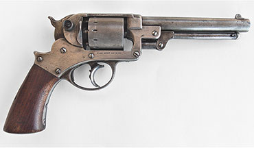 Remembering a Civil War-era double-action revolver.