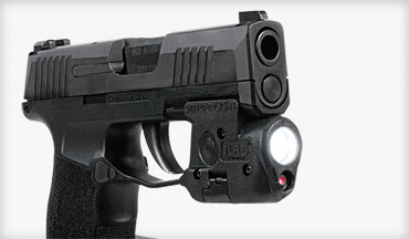 The new Streamlight TLR-6 light/laser is specifically designed for the SIG P365.