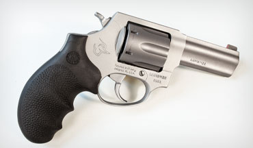 The Taurus 856 Defender Ultra-Lite revolver features a useful night sight, doesn't weigh much and is easier to shoot than a two-inch snubby.