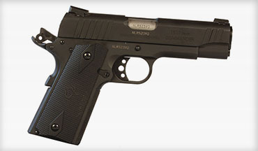 With the Taurus Commander 1911 you get .45 ACP power in a slightly smaller package, making it a decent option for concealed carry or home defense—and certainly just a fun gun to shoot.