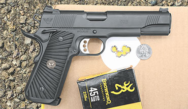 Wilson Combat has tweaked its CQB to create what is an essentially new pistol.