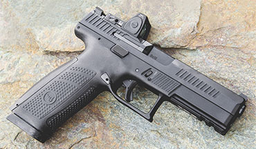 The American-made CZ P-10 F Optics-Ready 9mm is ready to take on the heavy hitters.