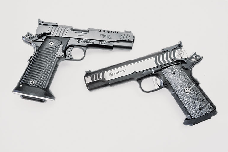 Competition 1911 Pistols Tested and Compared