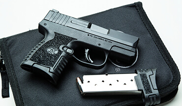 The new 503 is FN's take on a popular 9mm handgun size.