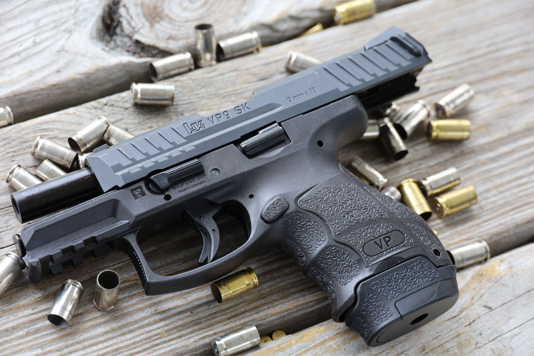 HK's accurate, soft-shooting and customizable VP9SK is aimed at the concealed-carry market.