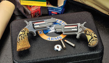 The limited-edition Anti-Venom revolvers from North American Arms are unique collector's items but also worthy of consideration as a carry gun.