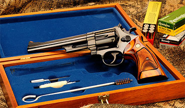 In the early 1950s, gun writer Elmer Keith went to Smith & Wesson, urging it to build a gun strong enough to handle the heavy .44 Special loads he had developed for the S&W .44 Hand Ejector. His persistence paid off as Remington and Smith & Wesson got together to design the .44 Magnum.
