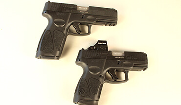 Taurus has released new red-dot-ready versions of their G3 and G3c striker-fired 9mm pistols.