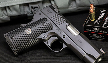 Wilson Combat's new ACP Compact 1911 in 9mm may not be ornate, but it's far from ordinary.