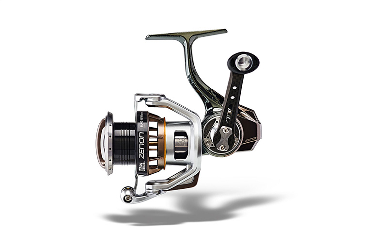 The Zenon features an ultralight hybrid spool.