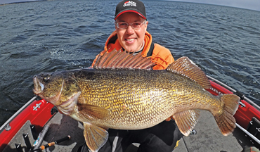 Here's some of the best locations for your shot at a giant walleye.
