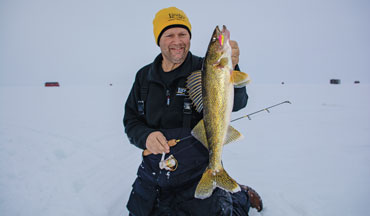 Overcoming the challenges of finding and icing big-water walleyes starts with changing your mindset.