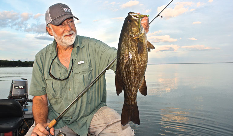 Catching Trophy Smallmouth Bass