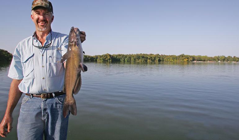 Wheeler Lake Fall Tactics Catfish