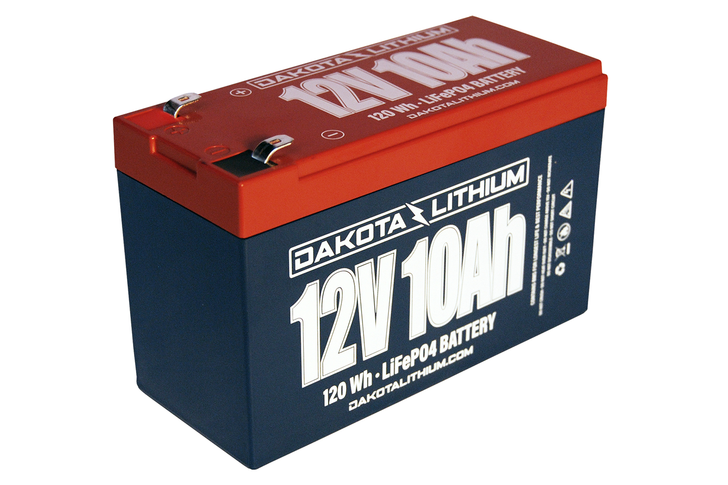 Check out the Dakota Lithium 12v-10Ah battery