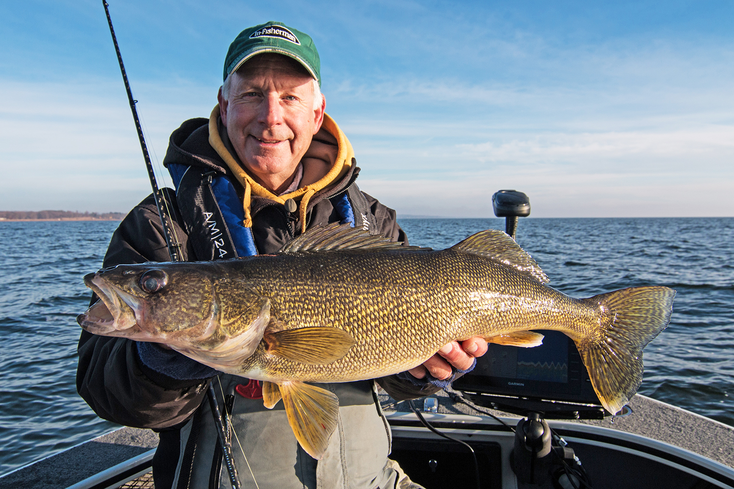 Consider food when targeting late season walleyes