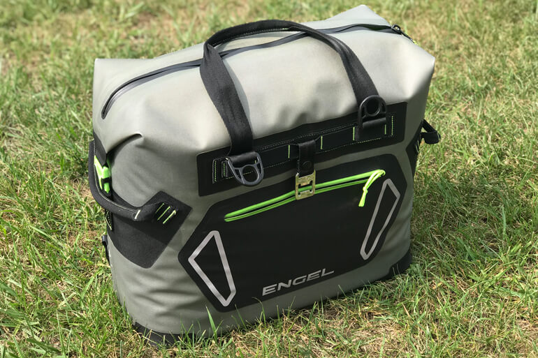 Rugged, tear-resistant, and waterproof - this soft-sided cooler is built to last.