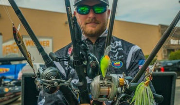 Find out which rods MLF Pro Bradley Roy is using to chase 1st place on every stage of the Bass Pro Tour.