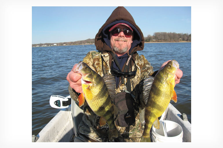 Mid- to late fall offers a variety of scenarios for sag-bellied yellow perch.
