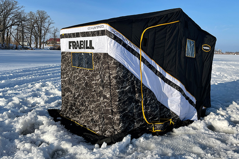 Fishing Gear: Frabill Ice Hunter SideStep 200