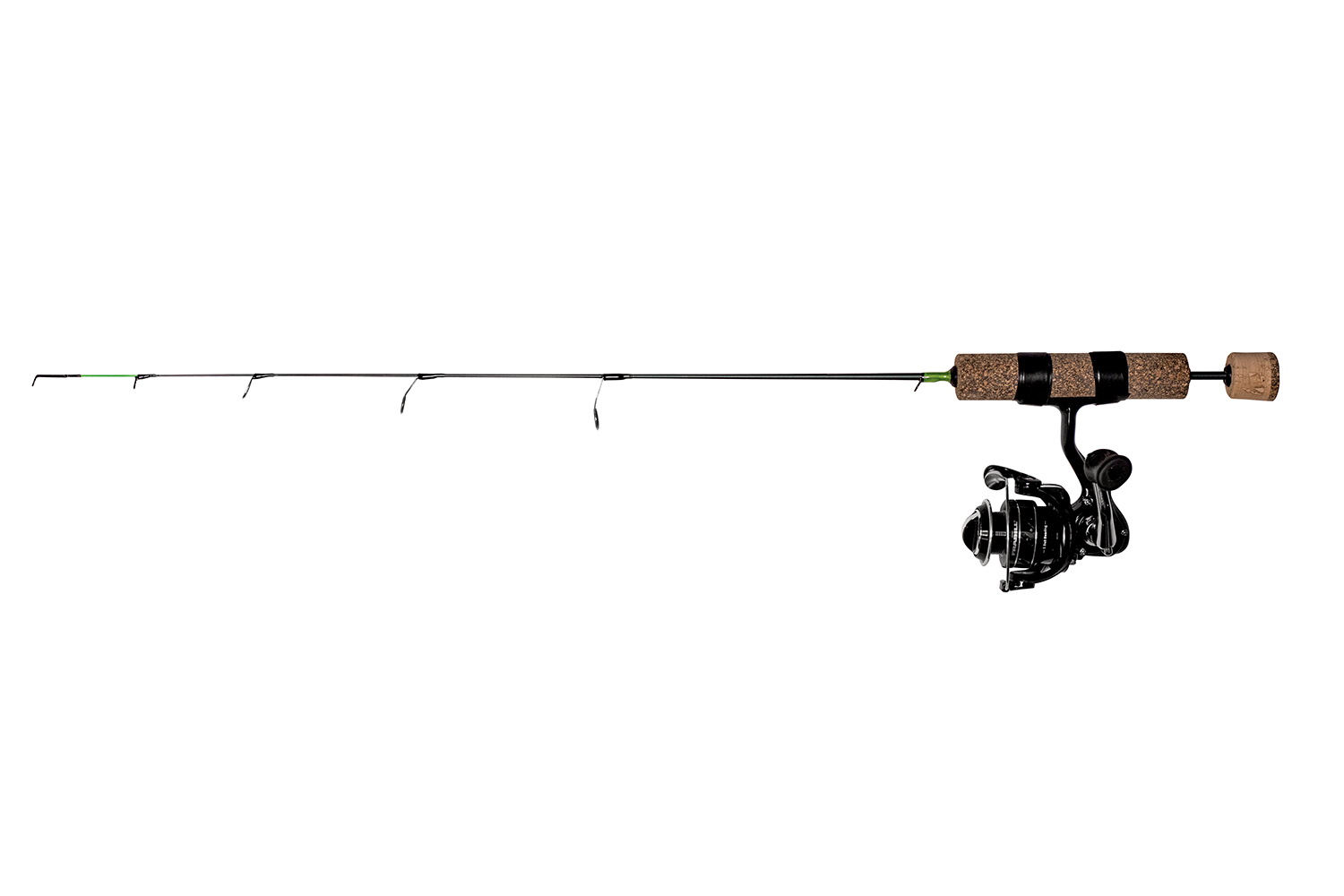 Frabill Ice Hunter 24-Inch Ultra Light Finess  Perch Ice Fishing Rod and Reel Combination