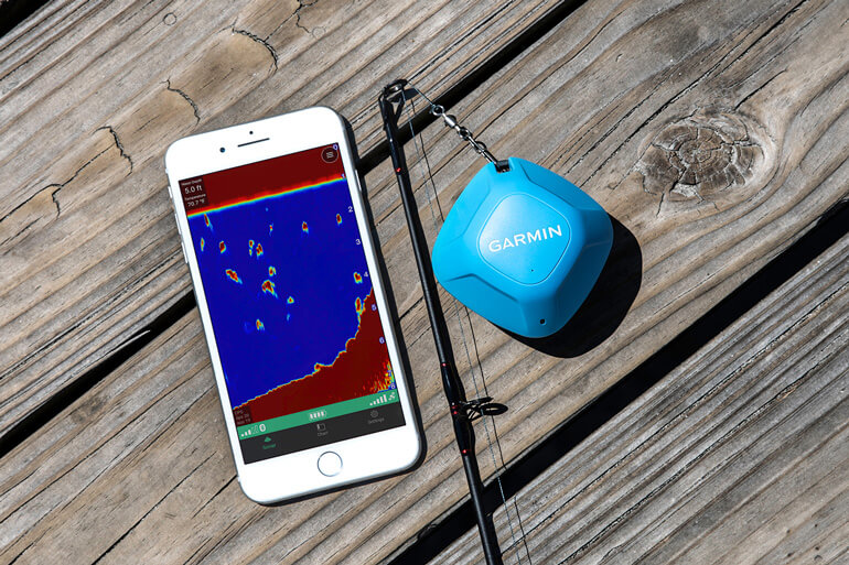 STRIKER Cast is a versatile sonar device that anglers can take with them wherever they go.