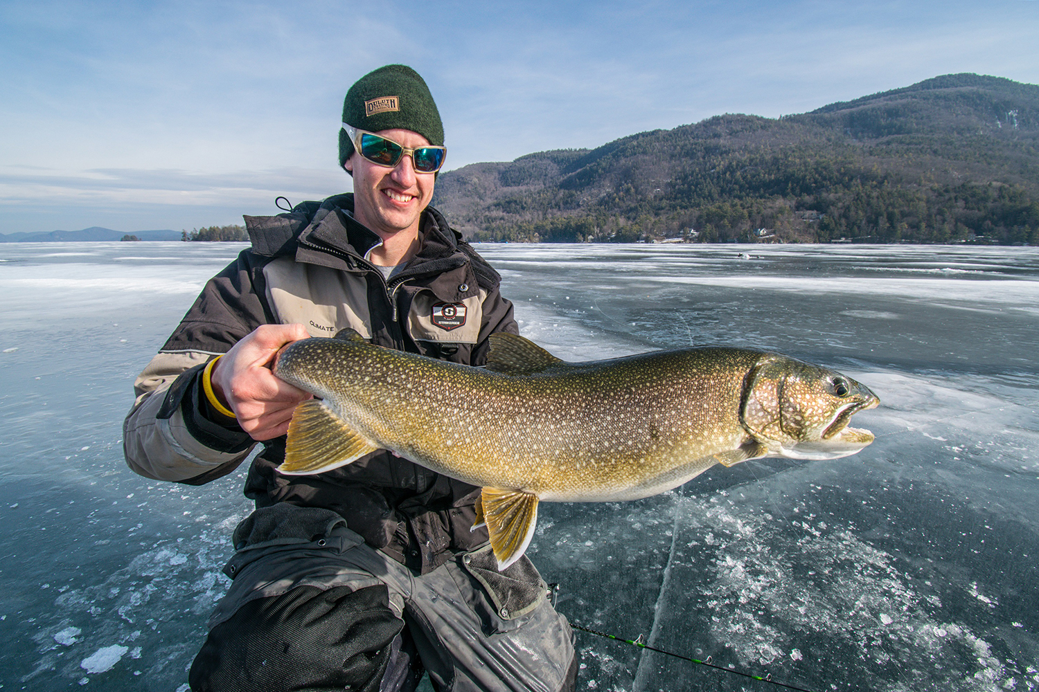 Big lakers will feast during late ice, here's how to locate the fish and how to catch them