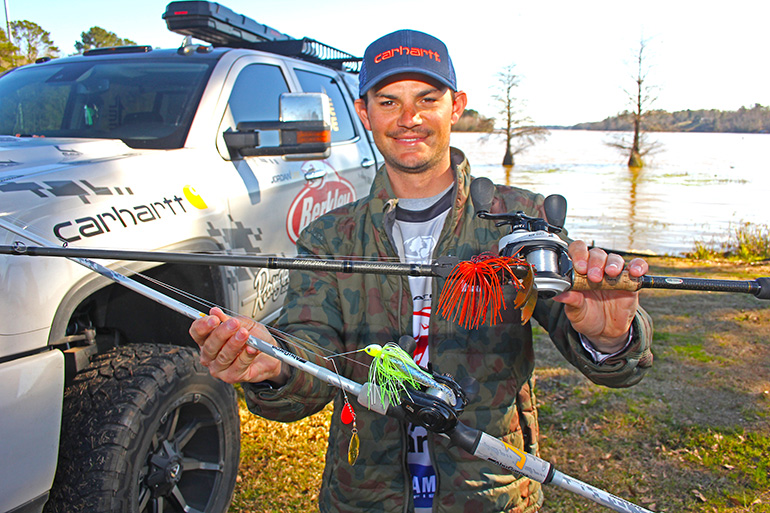 When spring largemouths feature bright red lips, here's the magic lures to tempt them with.