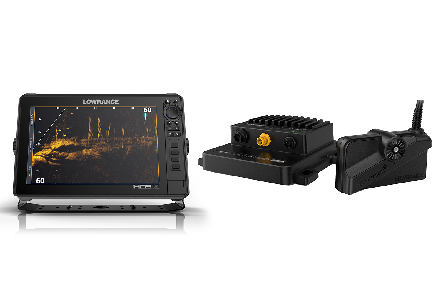 Lowrance announced the launch of its new, high-resolution ActiveTarget Live Sonar system