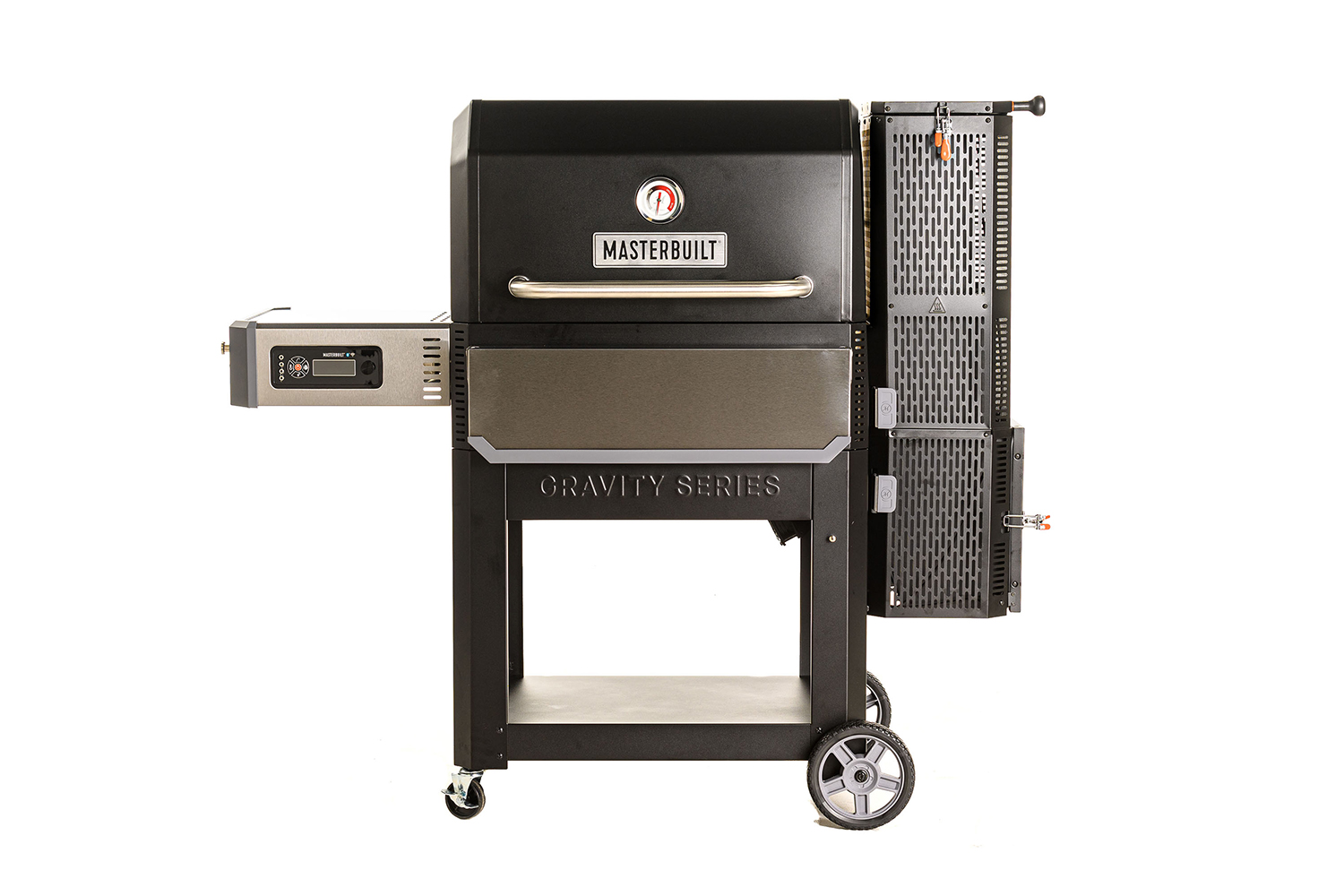 Become a master fish chef with the Masterbuilt Gravity Series 1050 Digital Charcoal Grill + Smoker