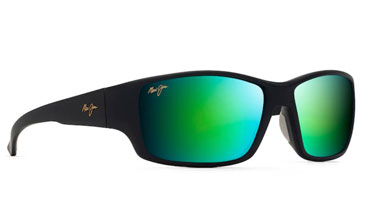 A lightweight, wrap frame with the latest mirror color MAUIGreen.