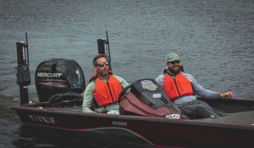 The One-Boat Challenge brought together eight anglers from a variety of fishing backgrounds.