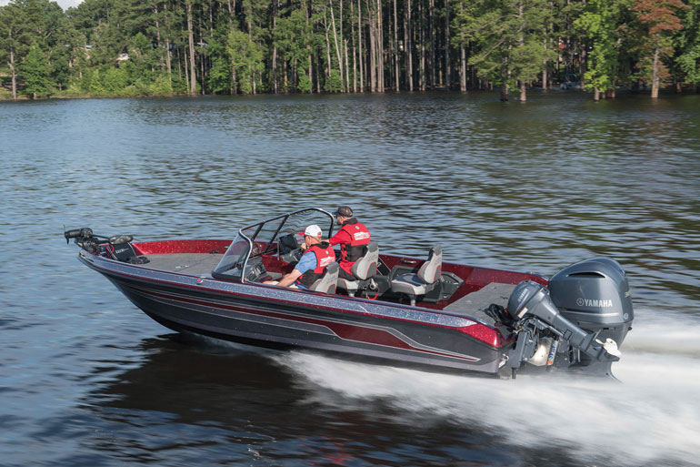 V-hulls are all about getting there fast, safe, and dry in big water.