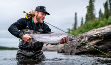 Quebec offers 1,500 miles of unique, world-class fishing opportunities where anglers can catch a variety of fish species.