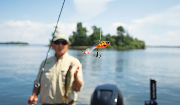 Jigging minnows, traditionally winter walleye baits, are equally effective on open water.
