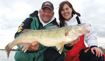 River systems offer some of the finest walleye fishing around.
