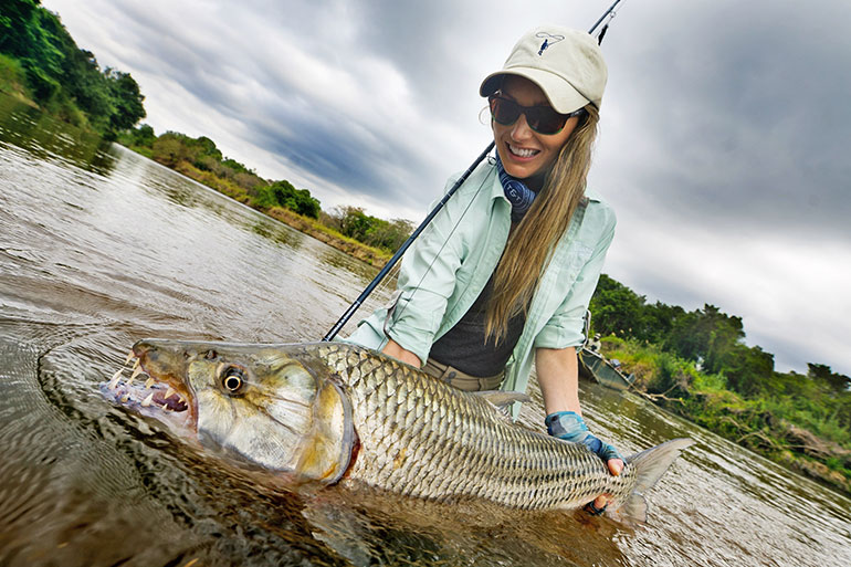 Travel pro, Rebekka Redd shares some trade fly fishing knowledge from around the globe.