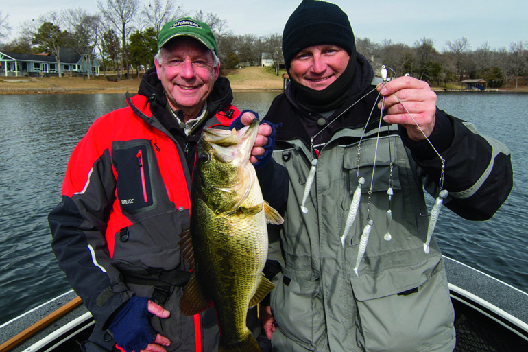 A stable presentation among winter bass anglers.
