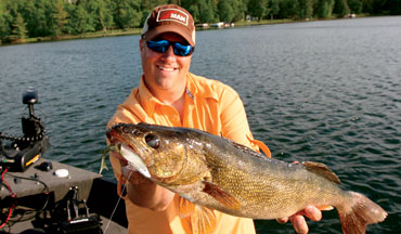 Triggering big fish is all about putting something down there that moves like animals walleyes eat.