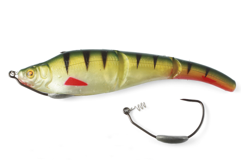Fish hooked on single-hook lures are easier to handle.