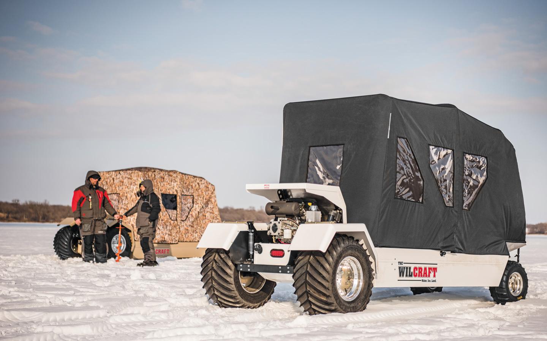 Ice-Fishing Transportation: Modes & Mods that Matter