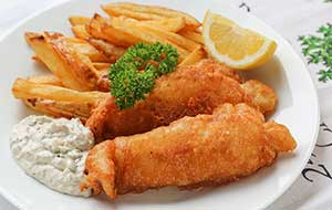 Catfish is meaty, juicy and holds up well in this soul-satisfying fried fish recipe with homemade chips and tartar sauce.