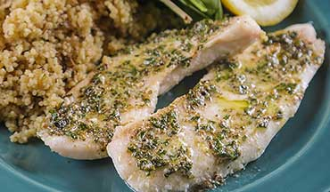 Simple and quick to make – this Crappie with French Herb Butter Recipe is an easy way to get dinner on the table.